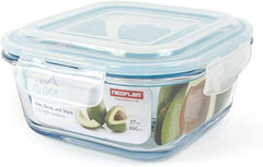 CLOC Glass Food Storage Containers Square
