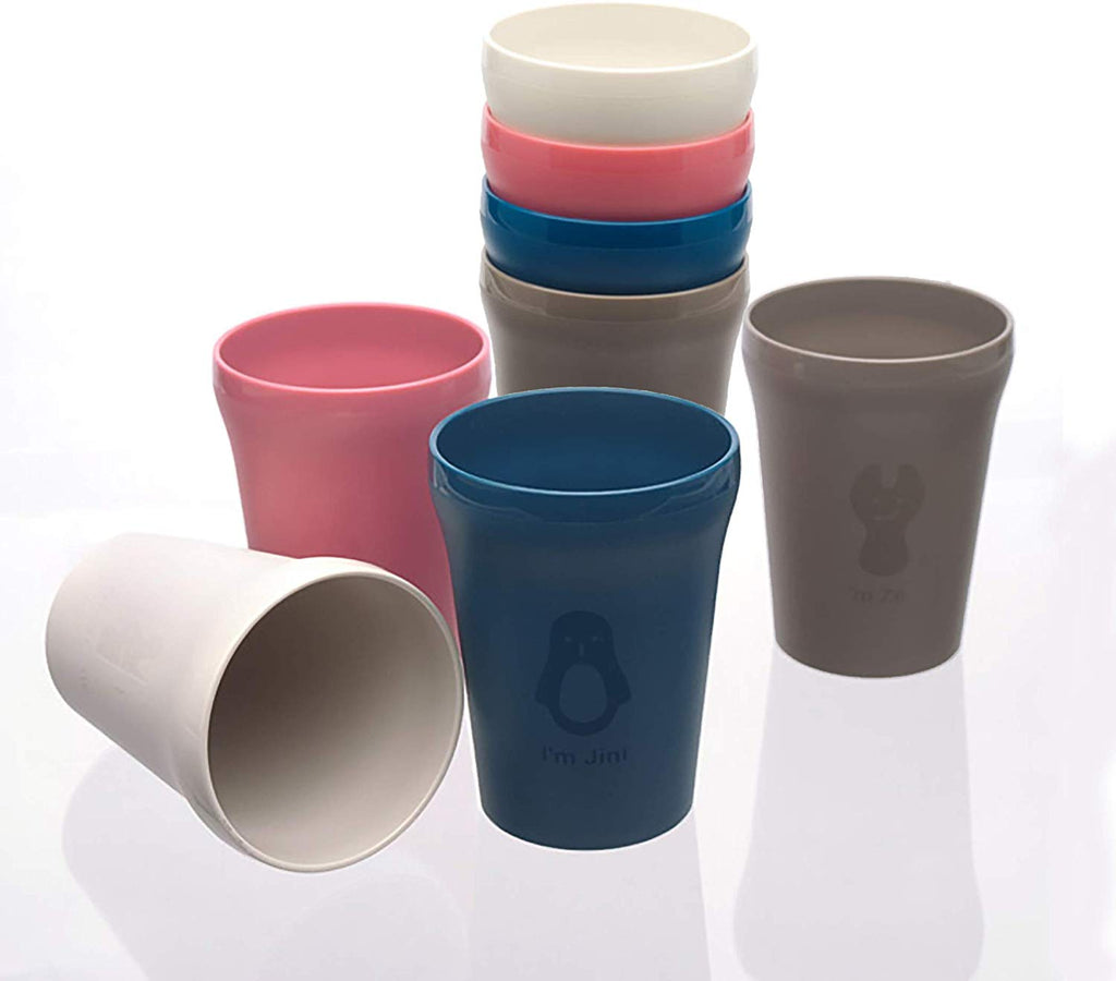 Colorful Cups Set (Set of 8)