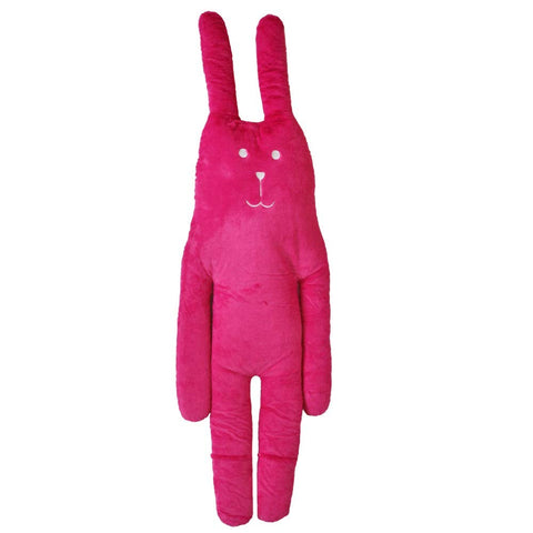 Pink Rabbit Hug Cushion