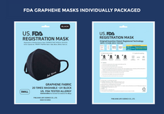 FDA Registered Graphene Face Mask