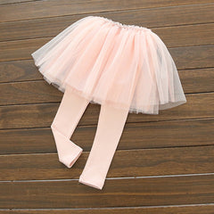 Linasha Tulle Leggings