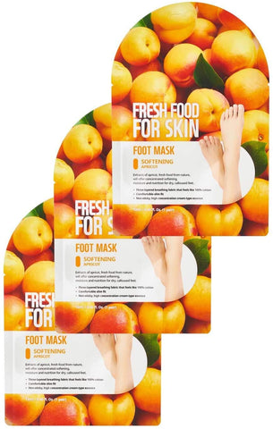 FreshFood For Skin Softening Foot Mask Set (3 Packs)