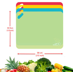 Flexible Cutting Boards Set (Set of 4)