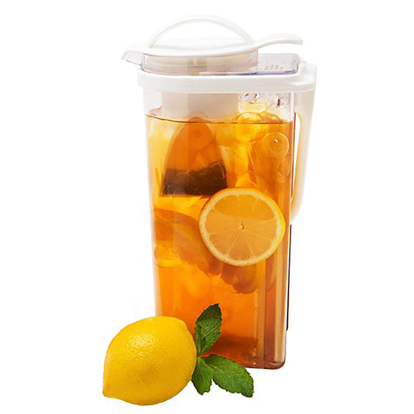 High Heat Resistant Airtight Pitcher 2.3QT with Tea Strainer