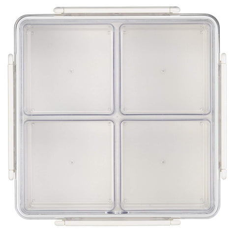 Micro Clear Food Storage Container 21oz Set Set Of 3 Mamamoor