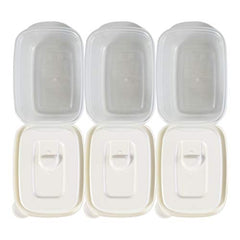 Smart Flap Venting Food Storage Container 3 Pack Set