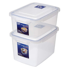 Jumbo Smart Locks Food Storage Container Set (Set of 2)