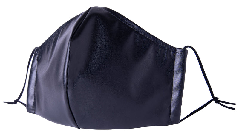 Fashionable PU Leather Face Mask