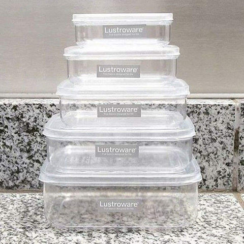 Micro Clear Food Storage Container 21oz Set (Set of 3)
