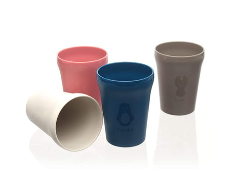 Colorful Cups Set (Set of 4)