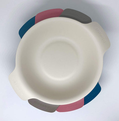 Round Plastic Bowl Set (Set of 4)