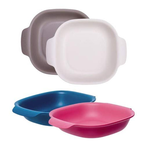 Square Salad Bowl Set (Set of 4)