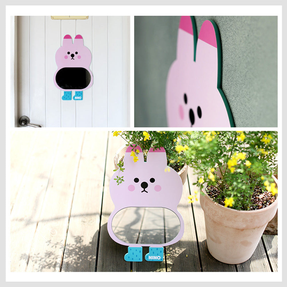 Pink Rabbit Mirror Board Mini