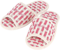 Non-slip Cotton Pink Slippers