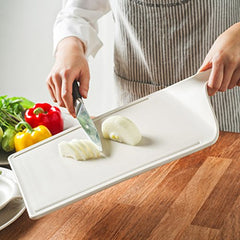 Plastic Cutting Board with Handle
