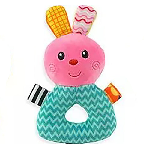 Rabbit Plush Animal Baby Rattle