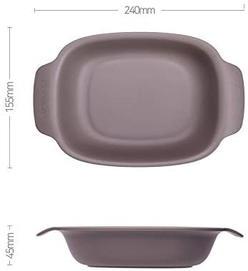 Rectangular Pasta Bowl Set (Set of 4)