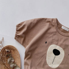 Bear Nose Romper