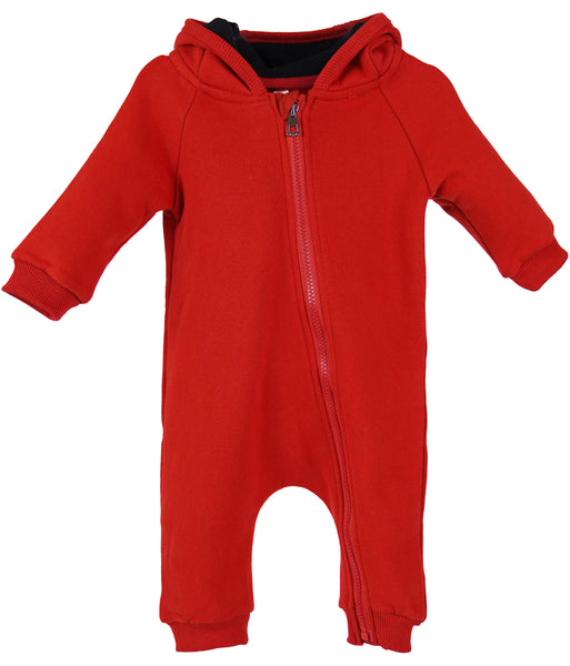 Ruby Hooded Spacesuit Romper