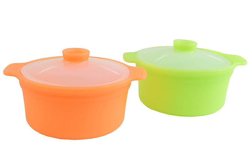 Silicone Rice Steamer 20.3 Fl Oz Set (Set of 2)