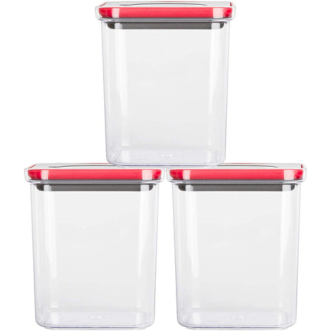 Smart Seal Airtight Food Storage Container 47.3oz / 1.4L (set of 3)