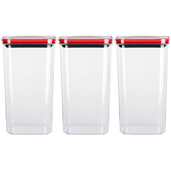Smart Seal Airtight Food Storage Container 71oz / 2.1L (set of 3)