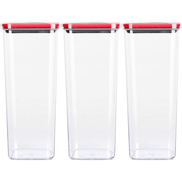 Smart Seal Airtight Food Storage Container 91oz / 2.7L (set of 3)