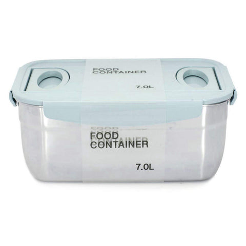 Stainless Steel Container Blue 237oz