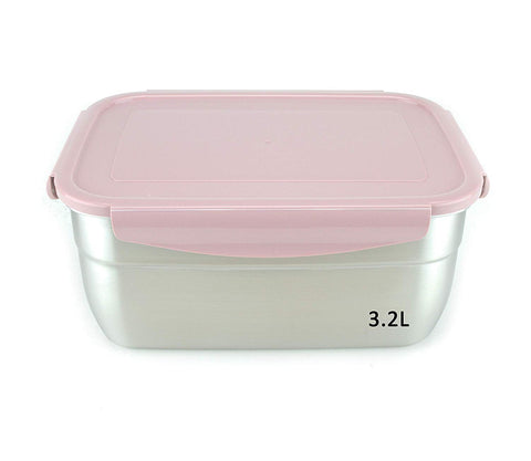 Stainless Steel Container Pink 108oz