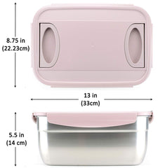 Stainless Steel Container Pink 237oz
