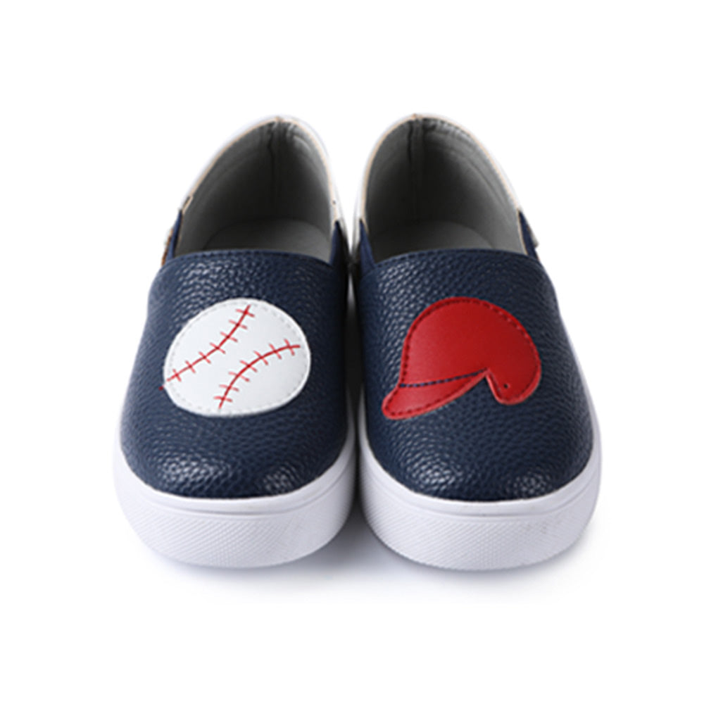 Baseball Slip On Shoes