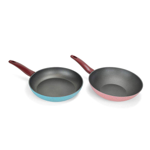 DADA Frying Pan and Wok Pan Set (Set of 2)