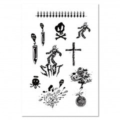 Temporary Tattoo Basic (45 Design)