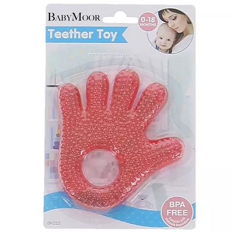 Water-Filled Hand and Foot Teethers