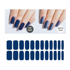 Premium Gel Nail Sticker - Color Line (Full) (16 Colors)