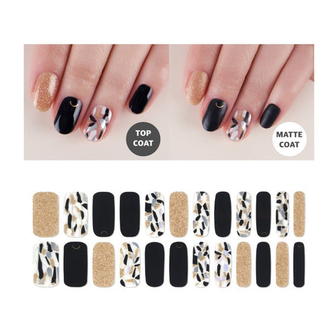 Premium Gel Nail Sticker - Shade Seoul Limited Edition (3 Design)