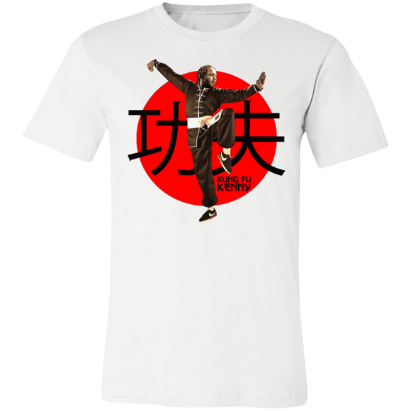 Kung Fu Kenny T Shirt - White - Hip Hop Spotlight Shop