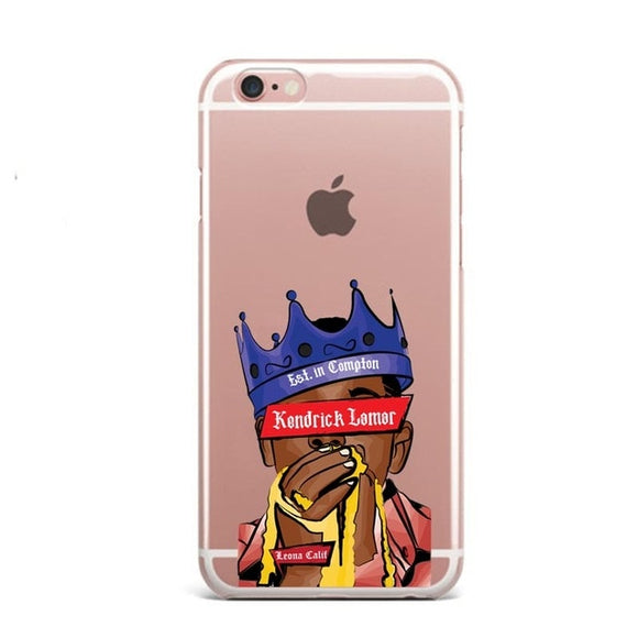 King Kendrick iPhone Case - Hip Hop Spotlight Shop