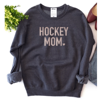 Blonde Ambiition Blonde Ambition Hockey Mom Charcoal Crew