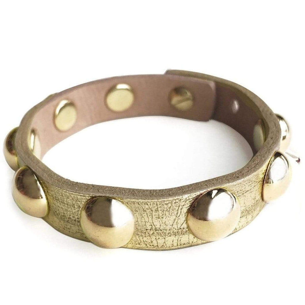 Brave Leather GOLD / N/S Brave Leather KBO Bracelet