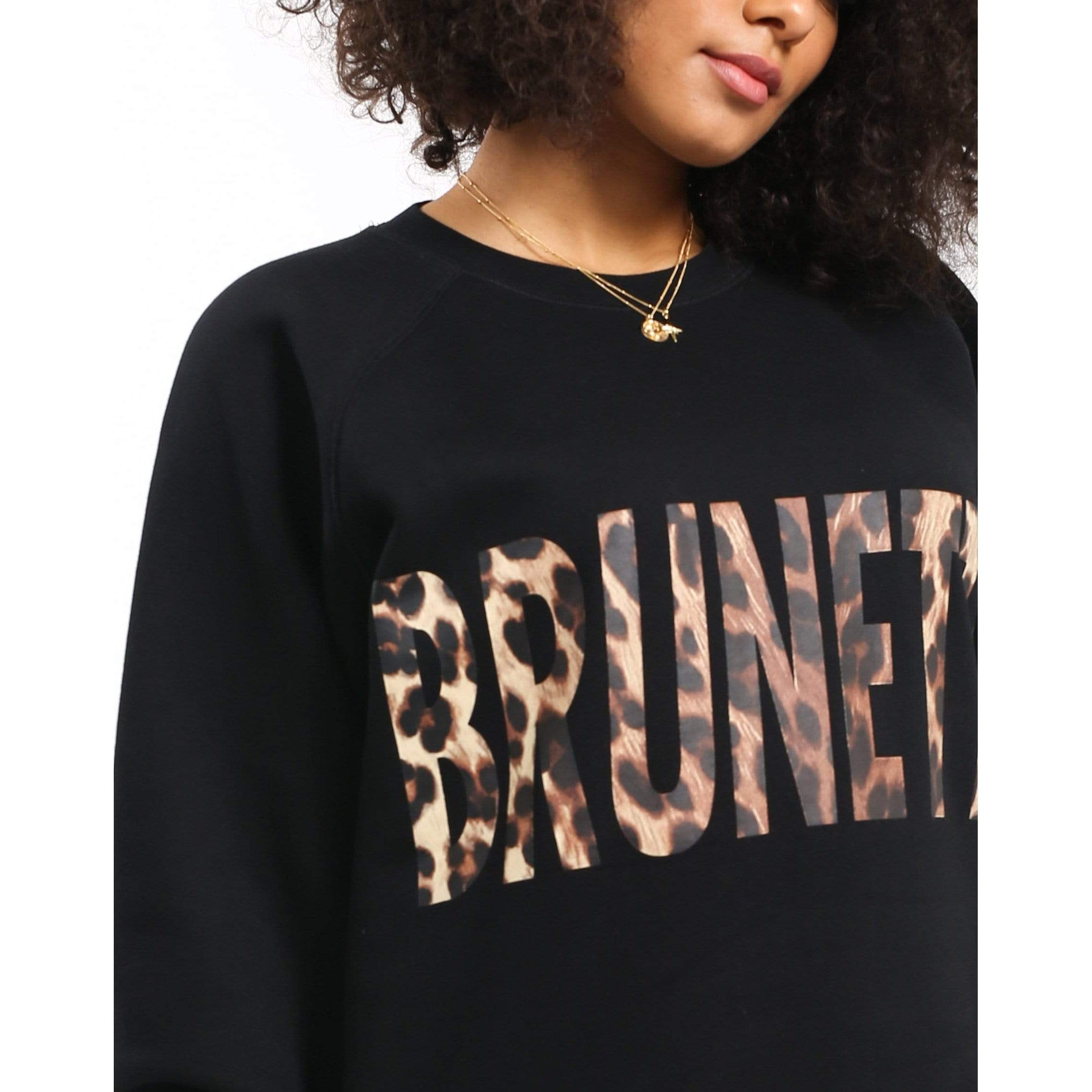 Brunette the Label Brunette the Label Brunette Leopard Big Sister