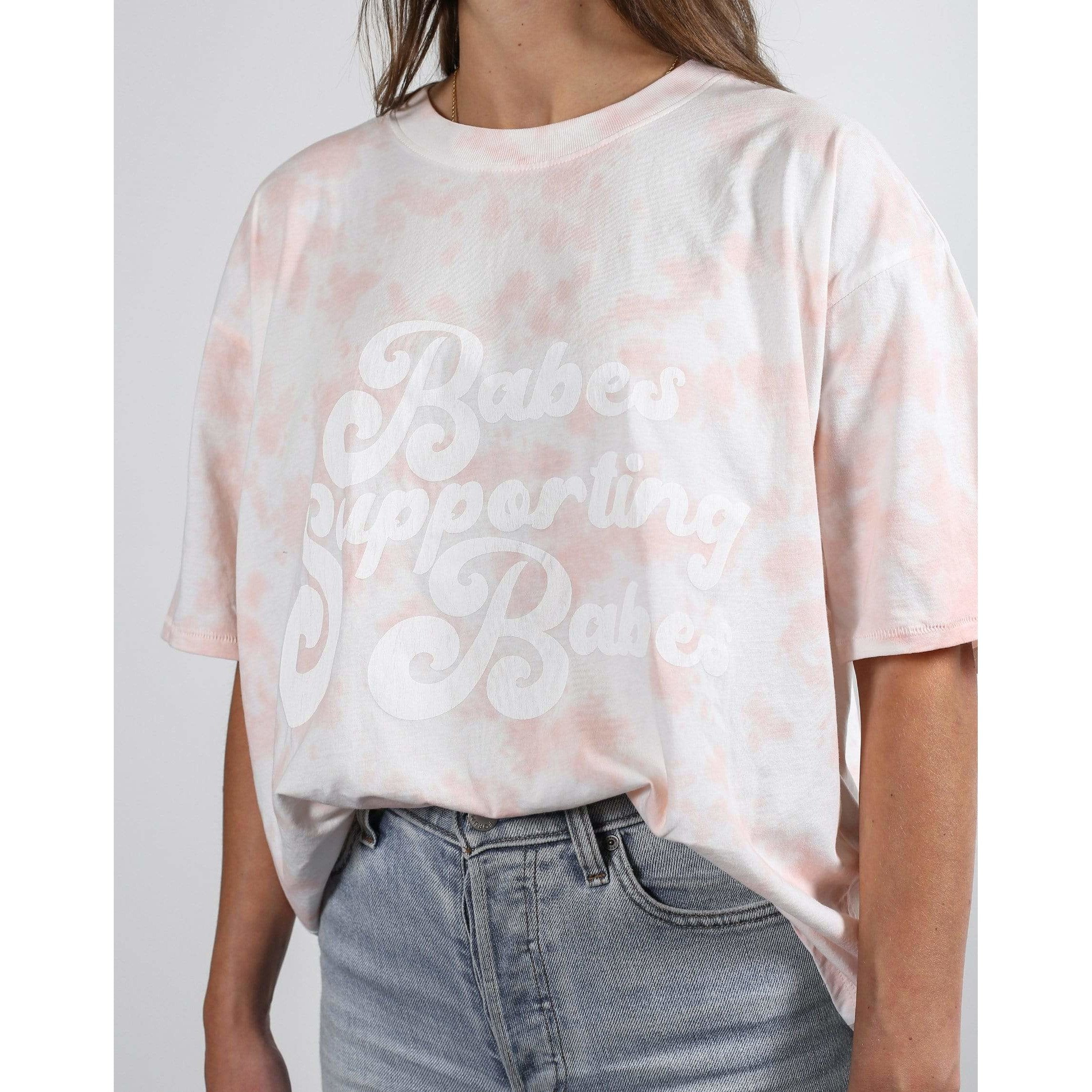 Brunette the Label Brunette the Label Marble Boxy Tee