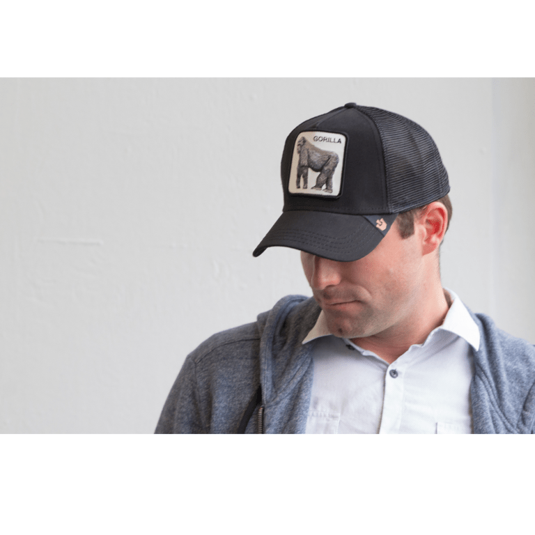 Goorin GREY / N/S Goorin King of the Jungle Trucker Hat