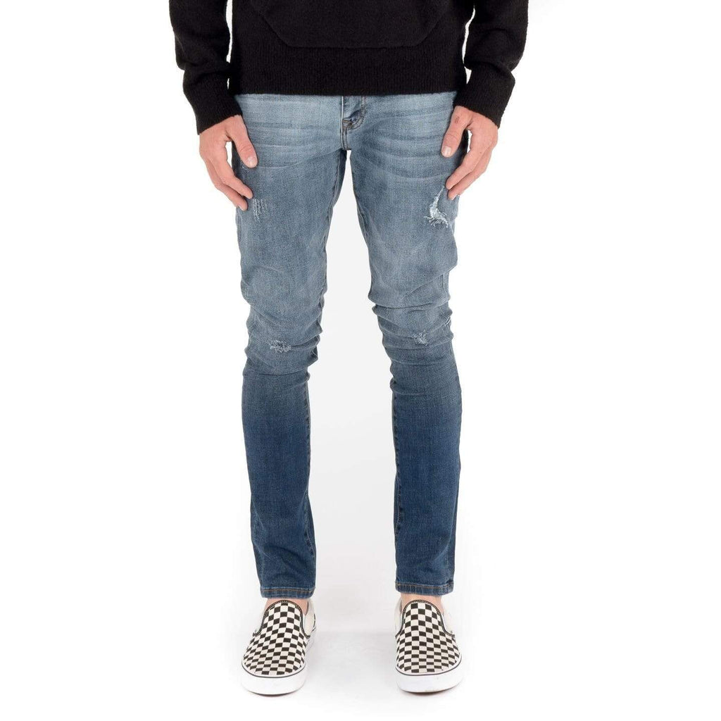 Kuwalla | Tee Kuwalla Skinny Fit Mild Distressed