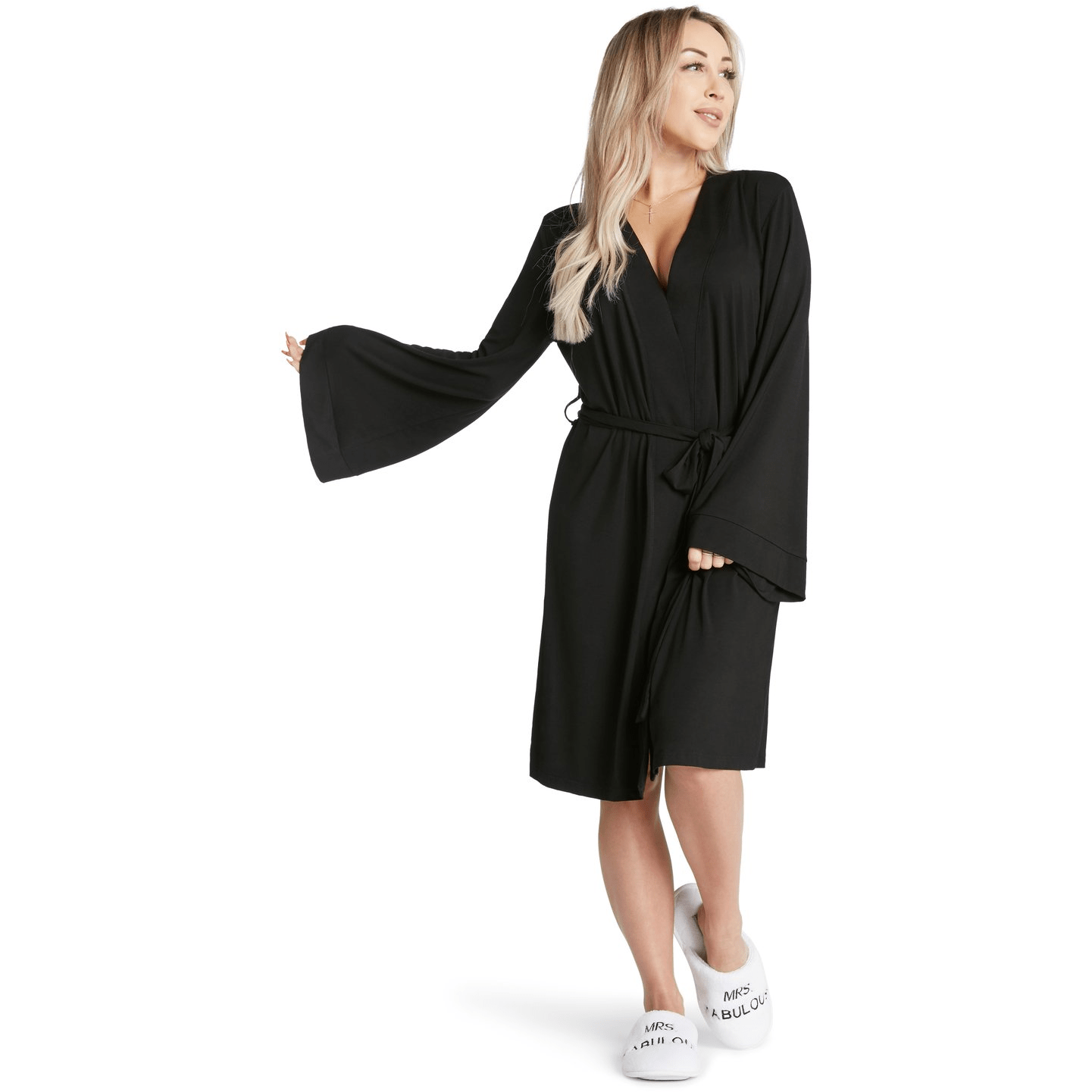 LA Trading BLACK / N/S Great In Bed La Trading Co Lightweight Robe