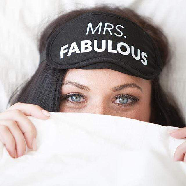 LA Trading BLACK / N/S Mrs. Fabulous Eye Mask
