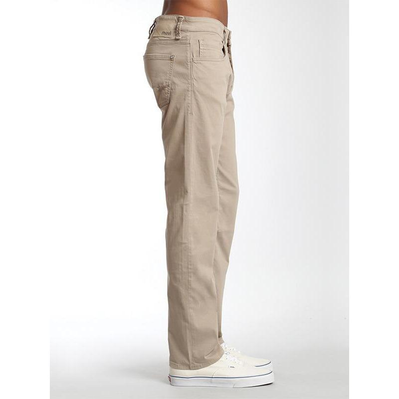 Mavi Jeans Mavi Zach Straight Leg in Beige Twill