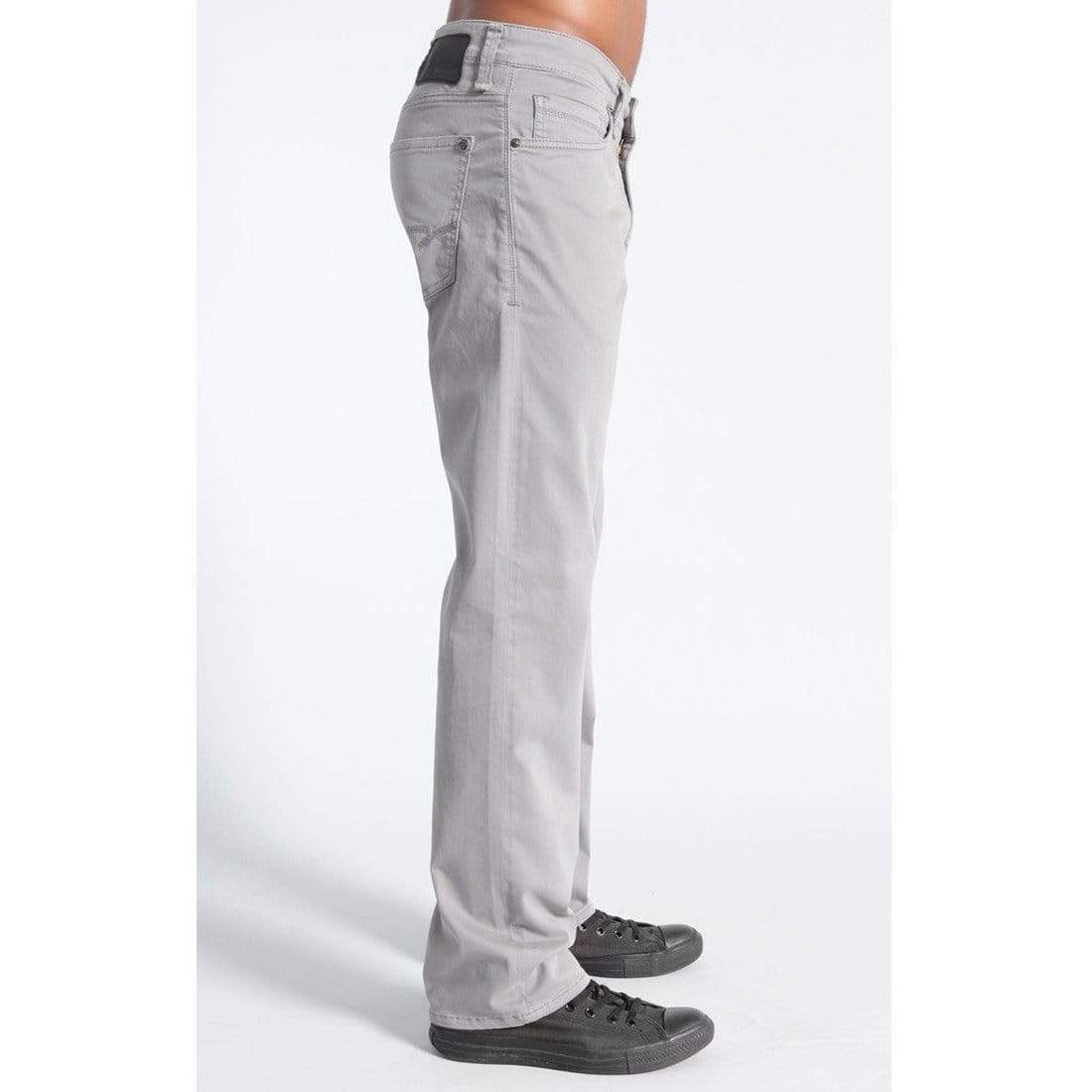Mavi Jeans Mavi Zach Straight Leg in Grey Twill