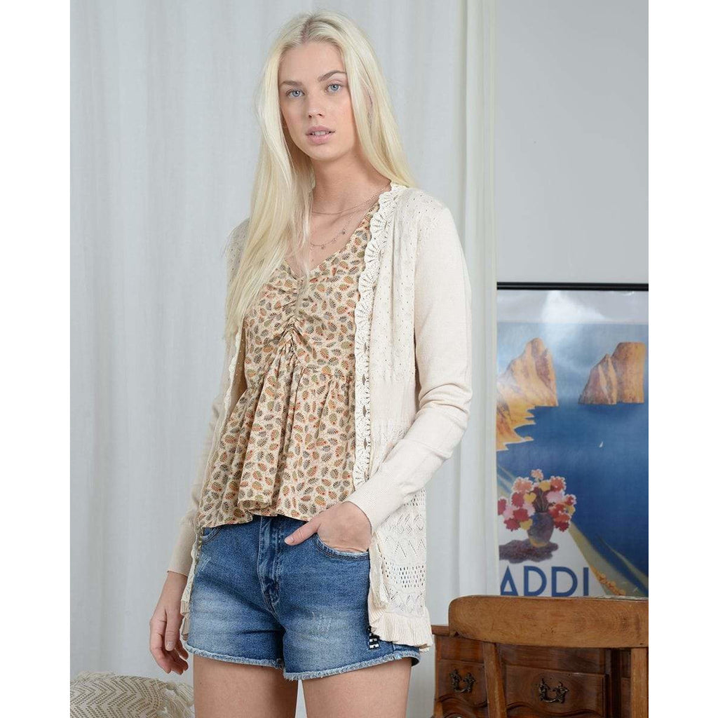 Molly Bracken CREAM / XS/S Molly Bracken Lace Cardigan + more colours