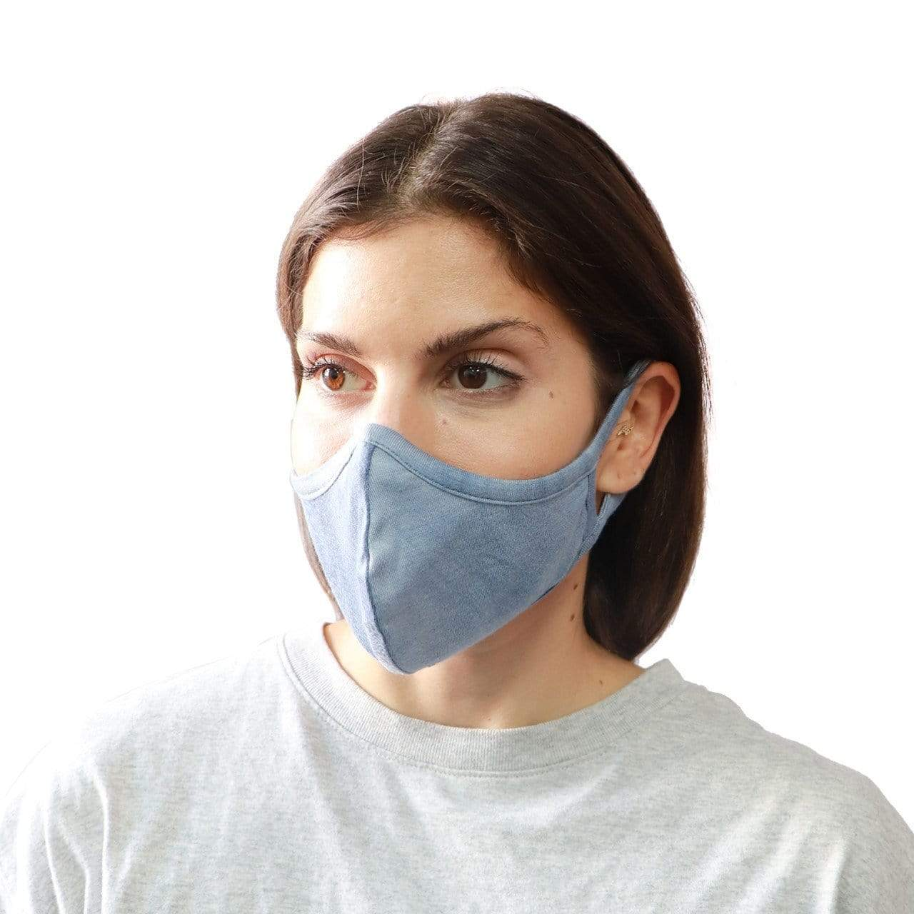 RD International Style BLUE / N/S Blue Face Mask